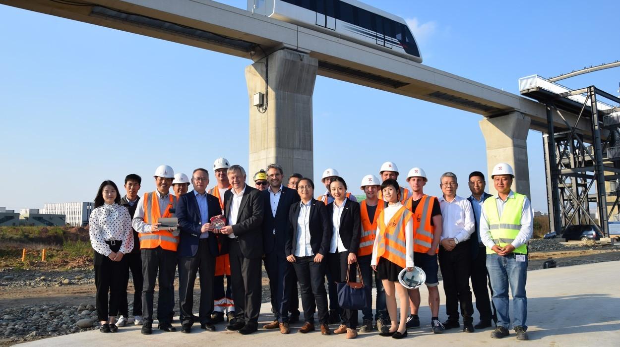 TSB visit german construction industry association China