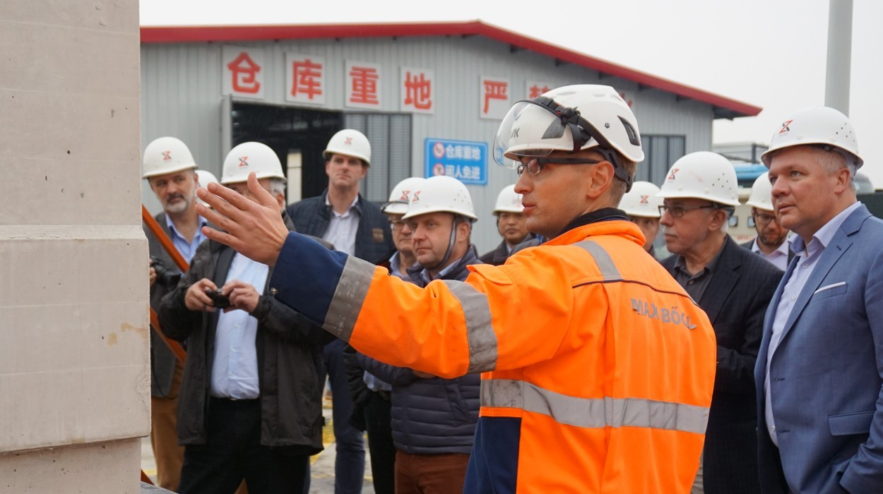 TSB visit german construction industry China