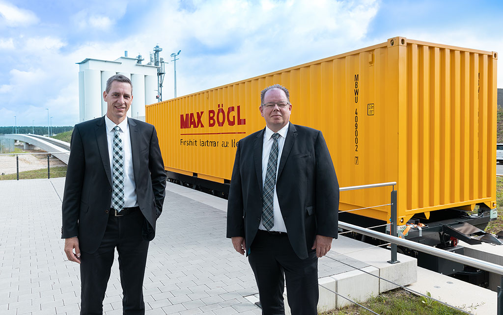 TSB Cargo - Stefan Boegl und Dr. Bert Zamzow